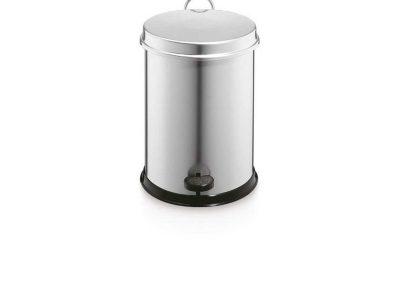 Cubo Pedal Metálico 5 litros